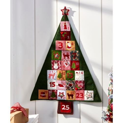 SALE!  Christmas Tree Advent Calendar