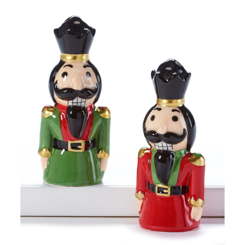 SALE!  Nutcracker Salt & Pepper Shakers