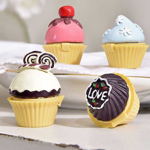 Cupcake Design Lip Balm