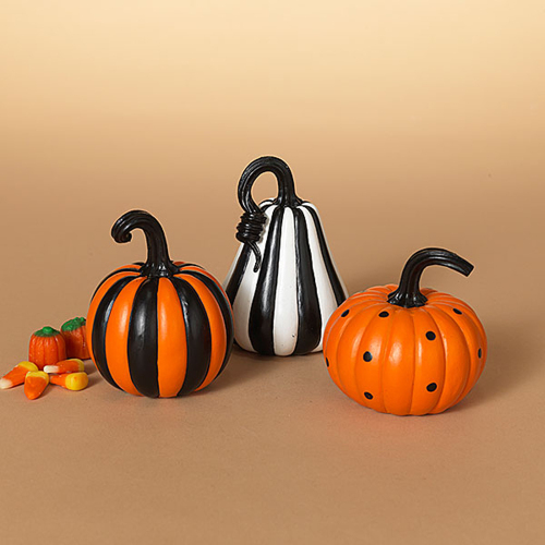 Decorative Pumpkin Trio