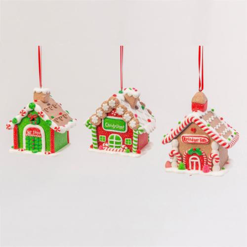 Clay Dough House Ornament