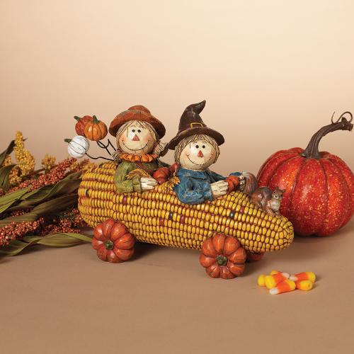 SOS! Scarecrows in a Corn Cart
