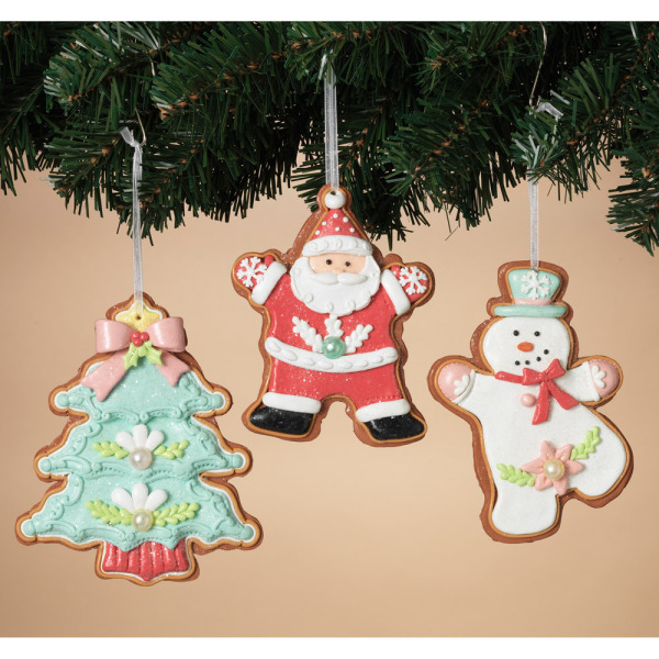 Clay Dough Holiday Ornaments