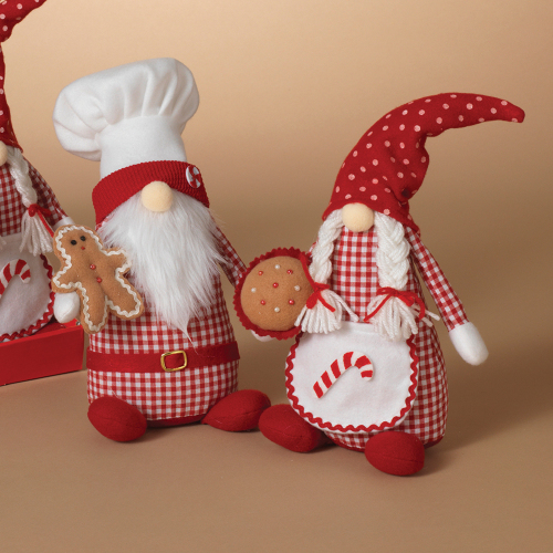 Baker Holiday Gnome Couple