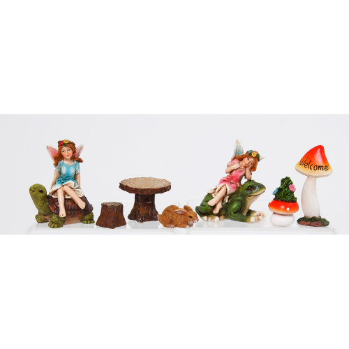 Woodland Fairy Garden Set