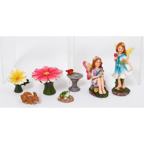 Flower Fairy Garden Set