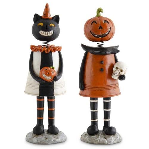 Black Cat & Pumpkin Enchanted Girls