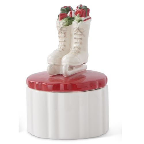 SALE!  Ice Skates Trinket Box