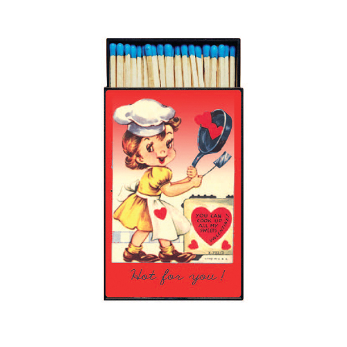 SALE!  Hot For You Retro Large Matchbox