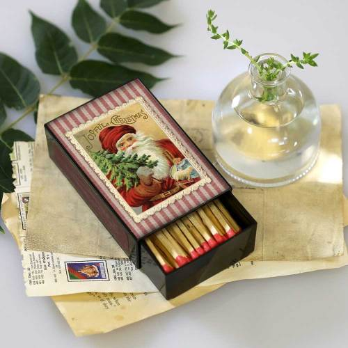 Joyful Christmas Large Matchbox