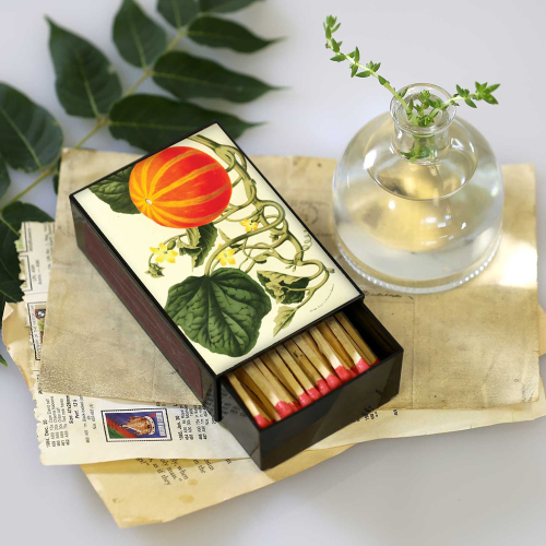 Botanical Pumpkin Large Matchbox