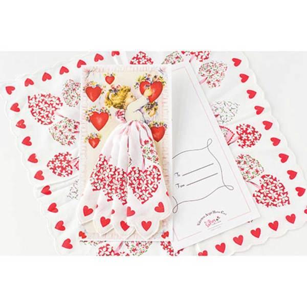 Valentine Hankie Gift Card
