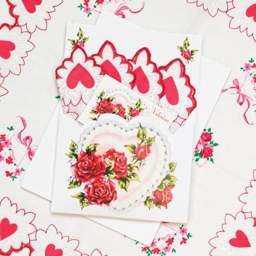 Valentine Hankie Folio