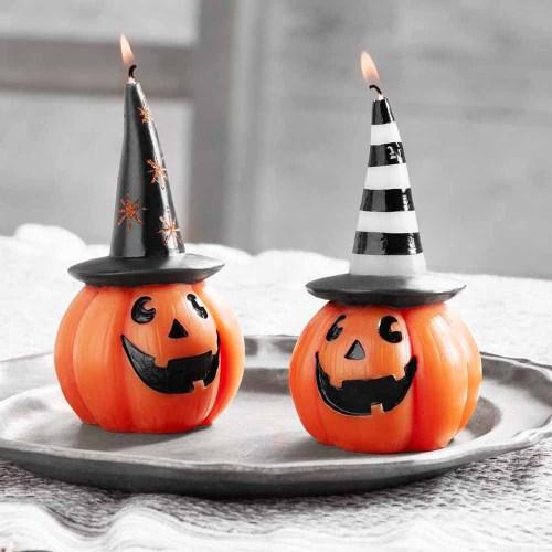 LTD QTY! Halloween Pumpkin Candles