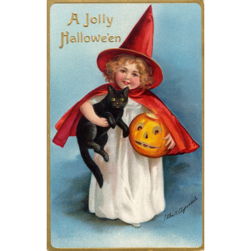 A Jolly Halloween Standing Board