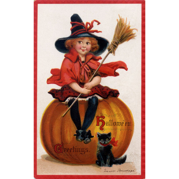Good Little Witch Mailable Greeting