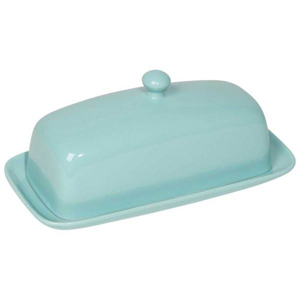 SALE!  Classic Butter Dish in Eggshell Blue