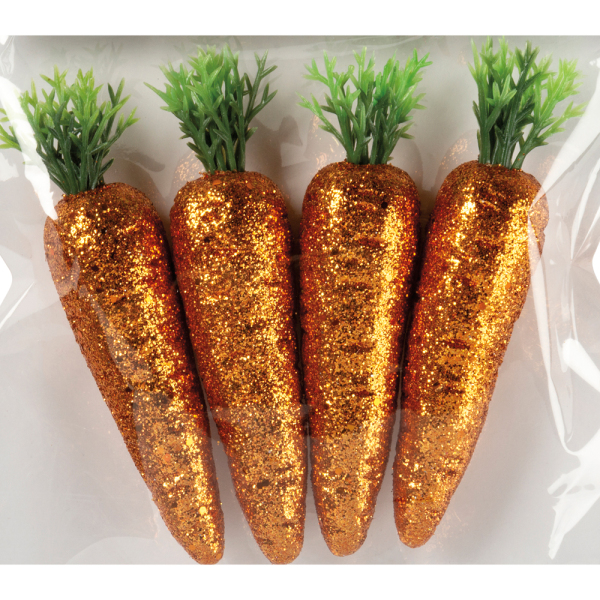 LTD QTY! Glitter Carrots Set