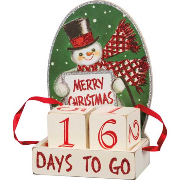 SALE!  Christmas Block Countdown