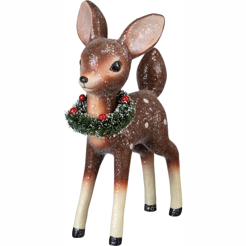Retro Standing Deer