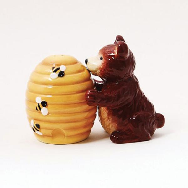 Bear & Beehive Salt & Pepper