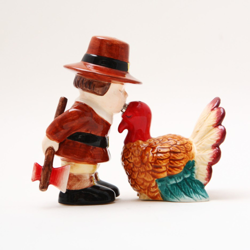 LTD QTY!  Thanksgiving Turkey Salt & Pepper