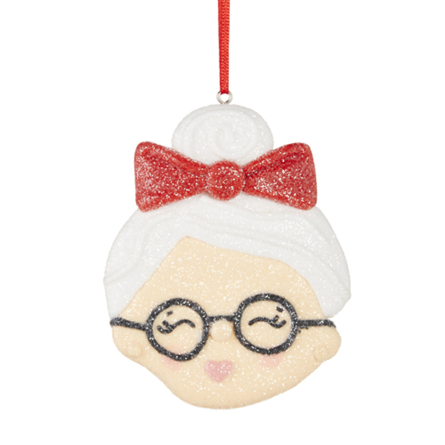 Mrs. Claus Cookie Ornament