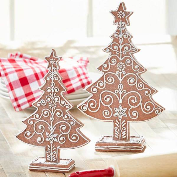 Gingerbread Tree Set