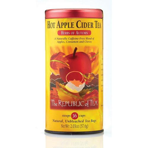 SOS!  Hot Apple Cider Tea