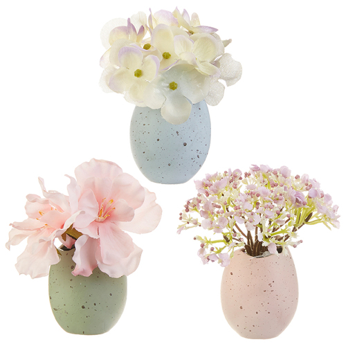 SALE!  Floral Egg Arrangement