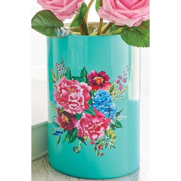 SALE!  Floral Utensil Holder