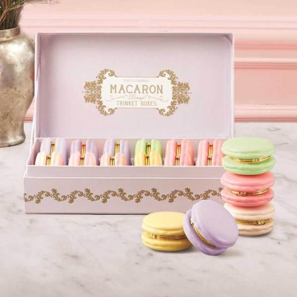 Macaron Shaped Trinket Box