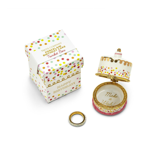 Birthday Cake Trinket Box