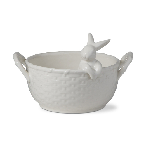 SALE!  Bunny Basket Bowl