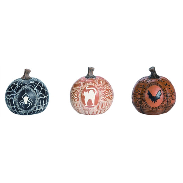 SOS!  Etched Pumpkin Set