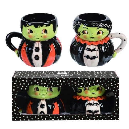 Mr & Mrs Frank Mug Set
