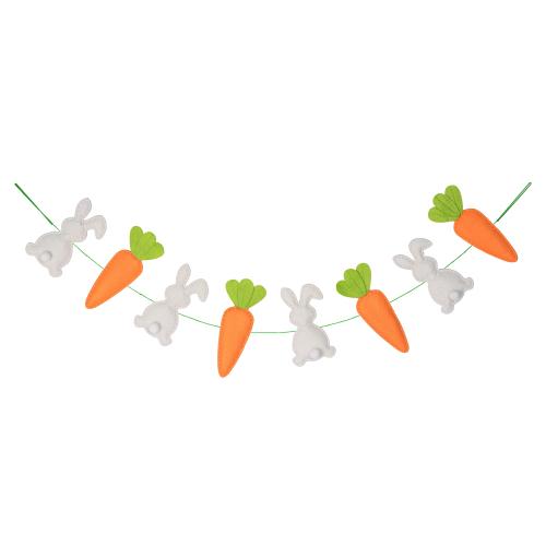 Bunny & Carrot Garland