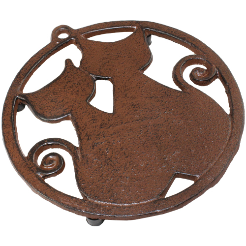 SALE!  Two Cats Trivet
