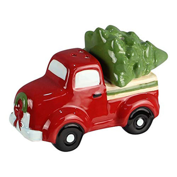 Truck & Tree Salt & Pepper Set