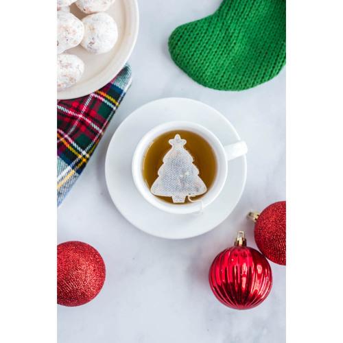 Christmas Tree Shaped Tea Bags