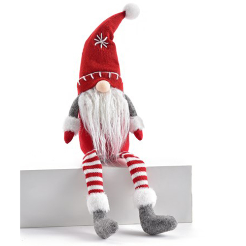 SALE!  Holiday Sitting Gnome