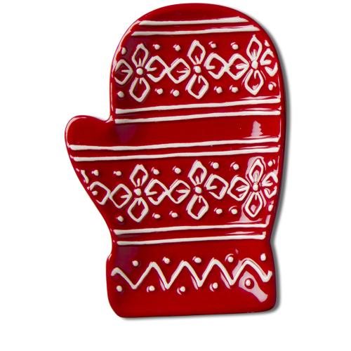 Red Mitten Plate