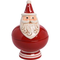 Jolly Santa Candy Dish
