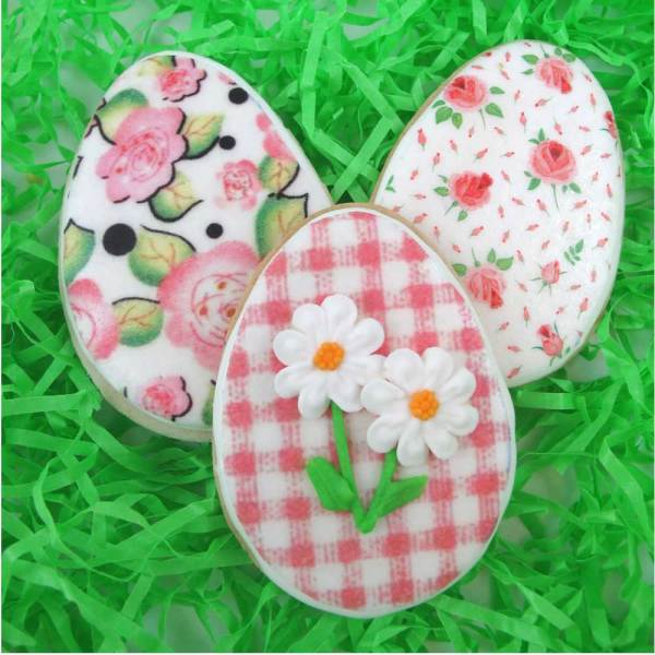 Design Fresh Spring Floral  Wafer Paper
