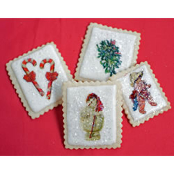 Holiday Christmas Miniatures Wafer Paper