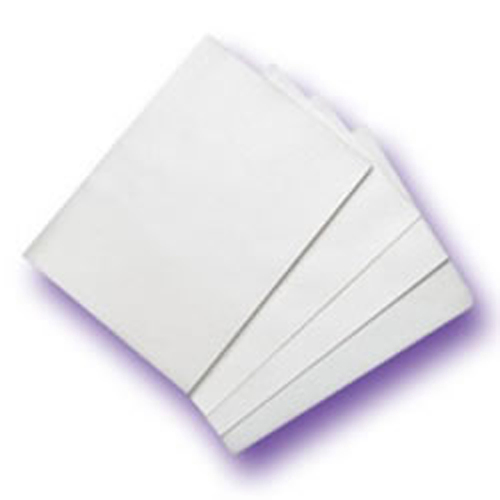 Unprinted White Wafer Paper, 5 Sheets