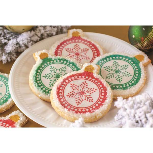 Snowflake Ornament Wafer Paper