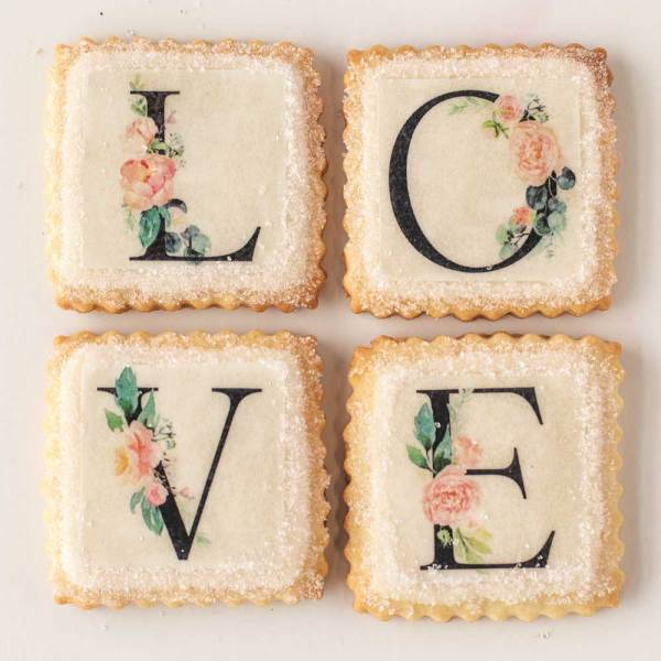 Love Letters Wafer Paper
