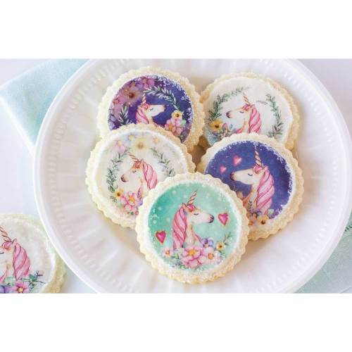 Magical Unicorn Wafer Paper