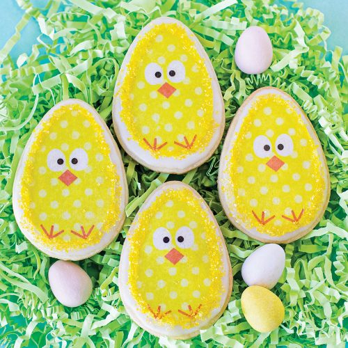 Spring Chick Edible Wafer Paper